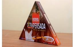 DODOL CITRA PERSADA RASA COKLAT SUSU, DOS 10 s'